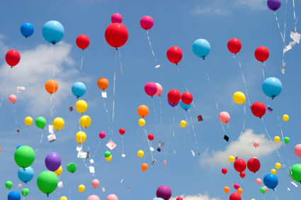 balloons-in-sky